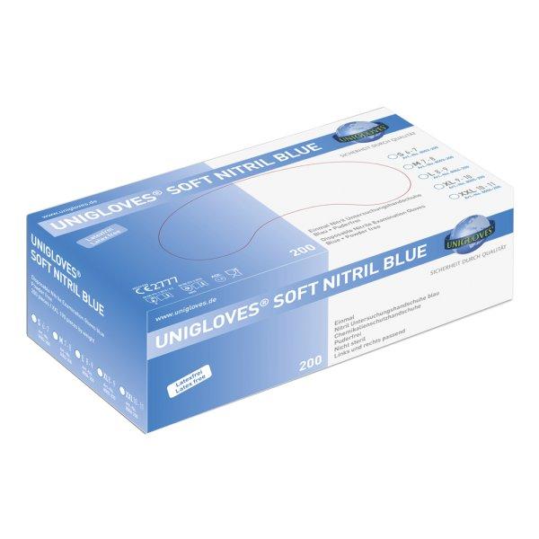 UNICARE Soft Nitrilhandschuh Box a 100