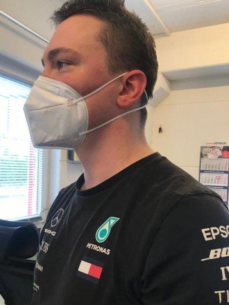 Profi FFP2 Maske mit hohem Tragekomfort, Nackenclip